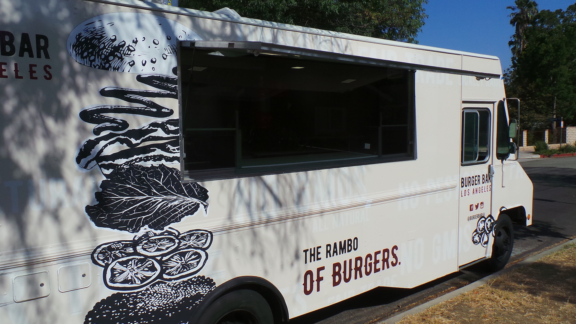 Burger bar la stainless kings for Food truck bar