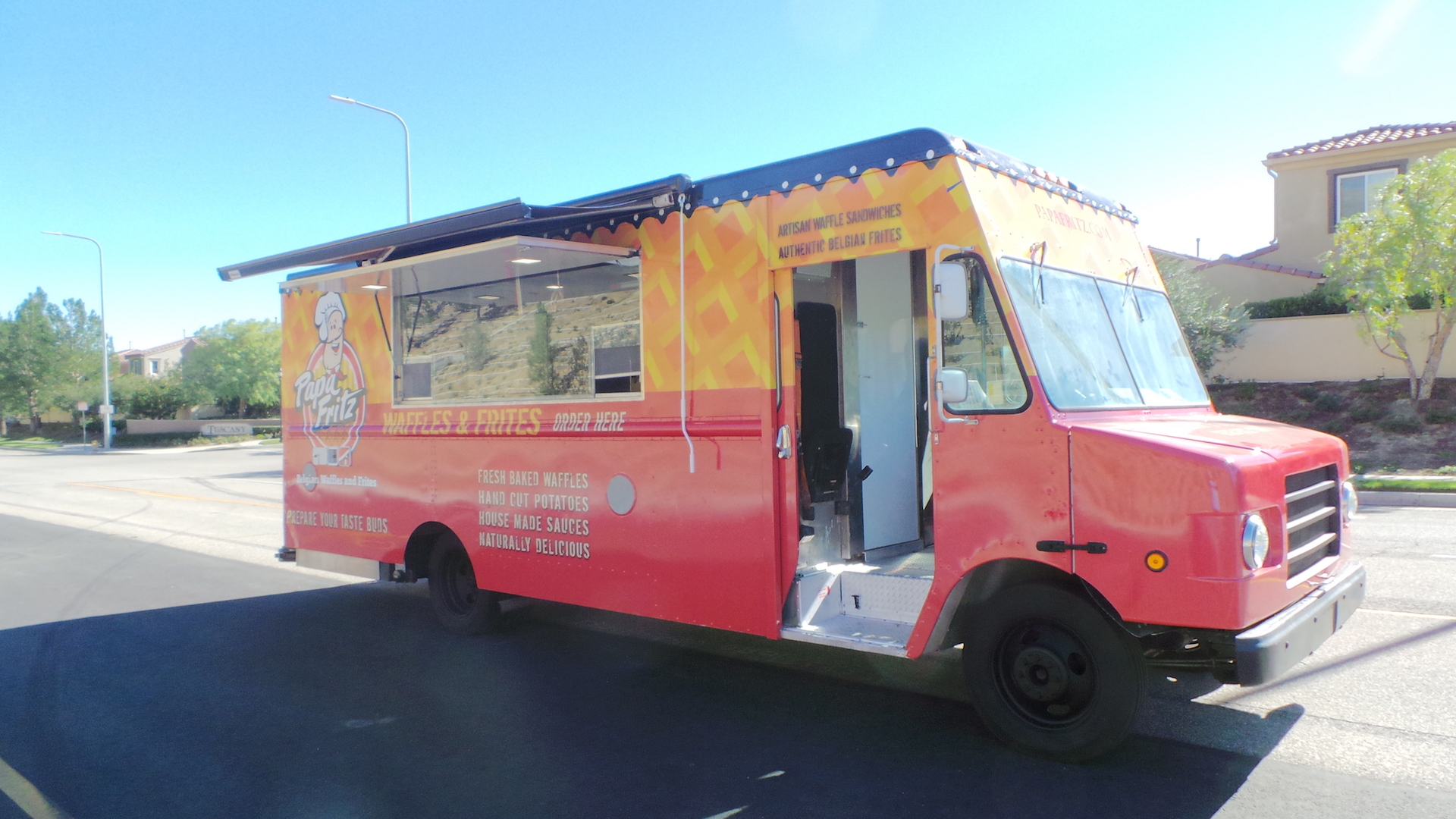 Project Waffle Food Truck