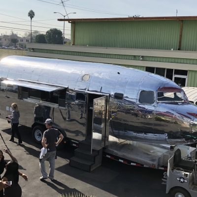 DC-3 Airplane Food Truck