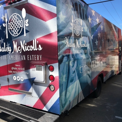 Haley McNicoll's Celtic American Eatery Food Truck