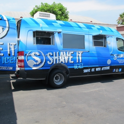 Shave It Santa Clarita Shaved Ice Truck